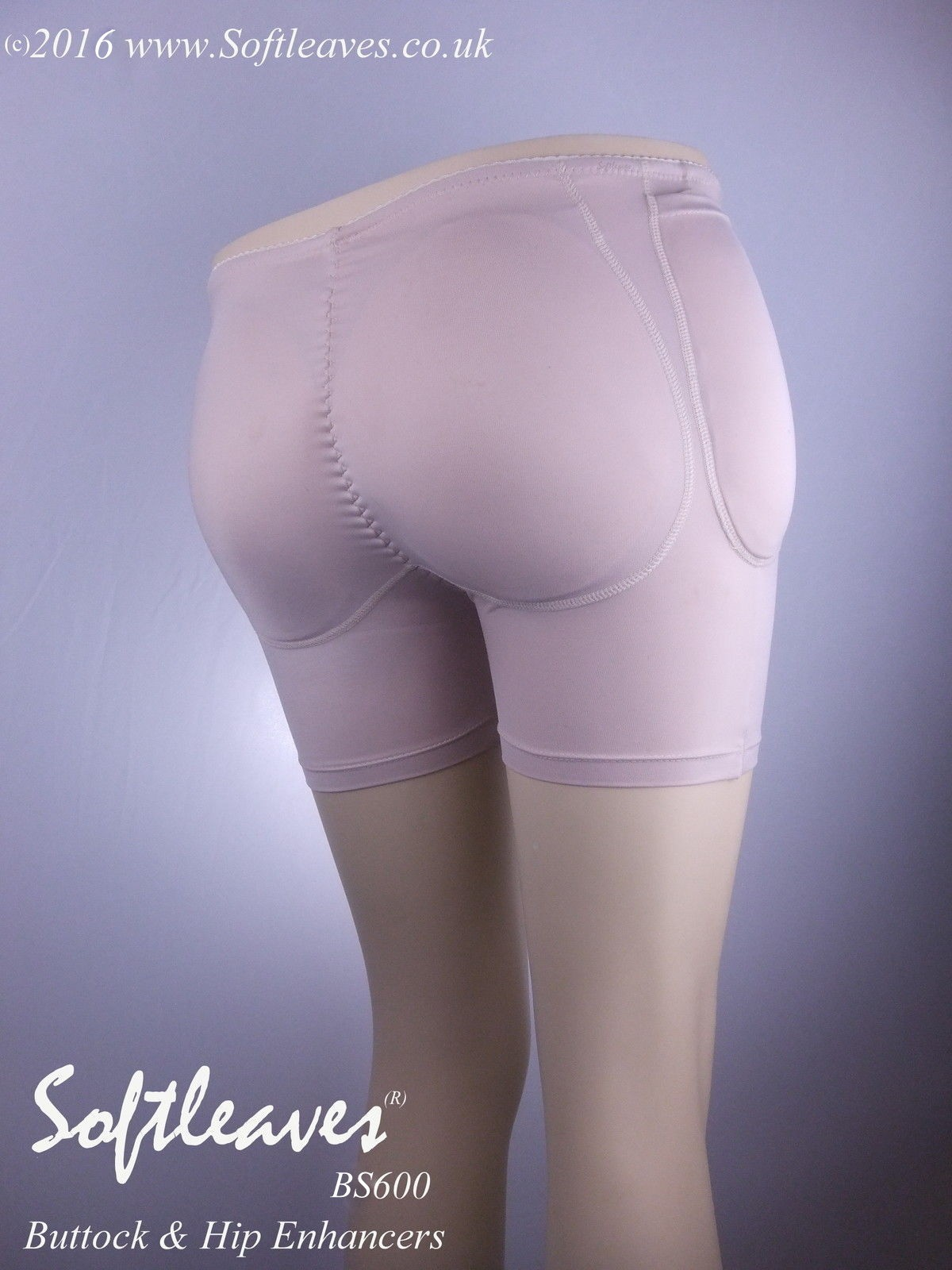 Softleaves BS600 Silicone Buttocks and Hip Enhancers Padded  Panties and Pants