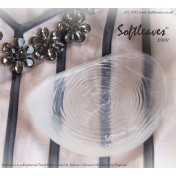 Softleaves X900 Silicone Breast Enhancers in the clear colour