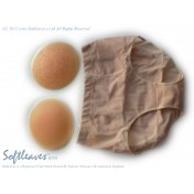 Softleaves B200 Silicone Buttock Enhancers with Round Shaped Insert Silicone Gel Pads